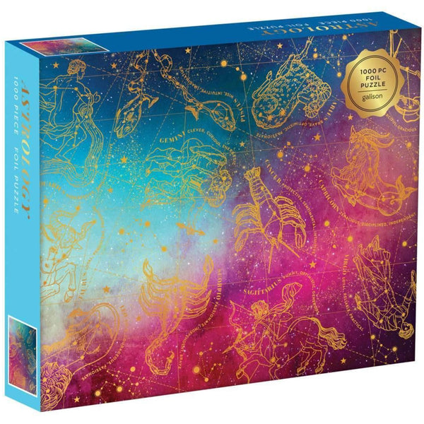 COSMOS ASTROLOGY GOLD FOIL PUZZLE