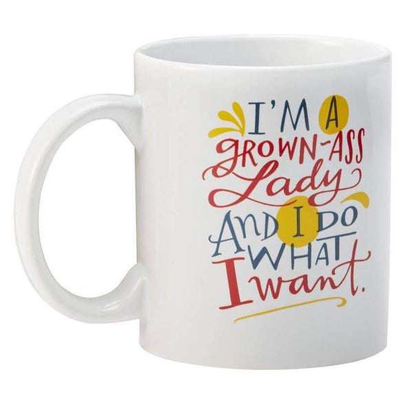 GROWN ASS LADY MUG