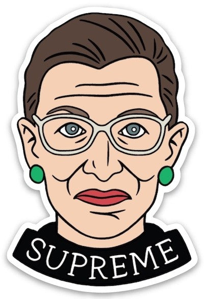 RBG SUPREME STICKER