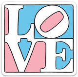 TRANS LOVE STICKER