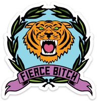 FIERCE BITCH STICKER