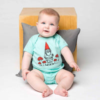 GNOME LIGHT BLUE ONESIE