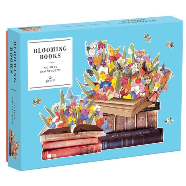 BLOOMING BOOKS SHAPED PUZZLE