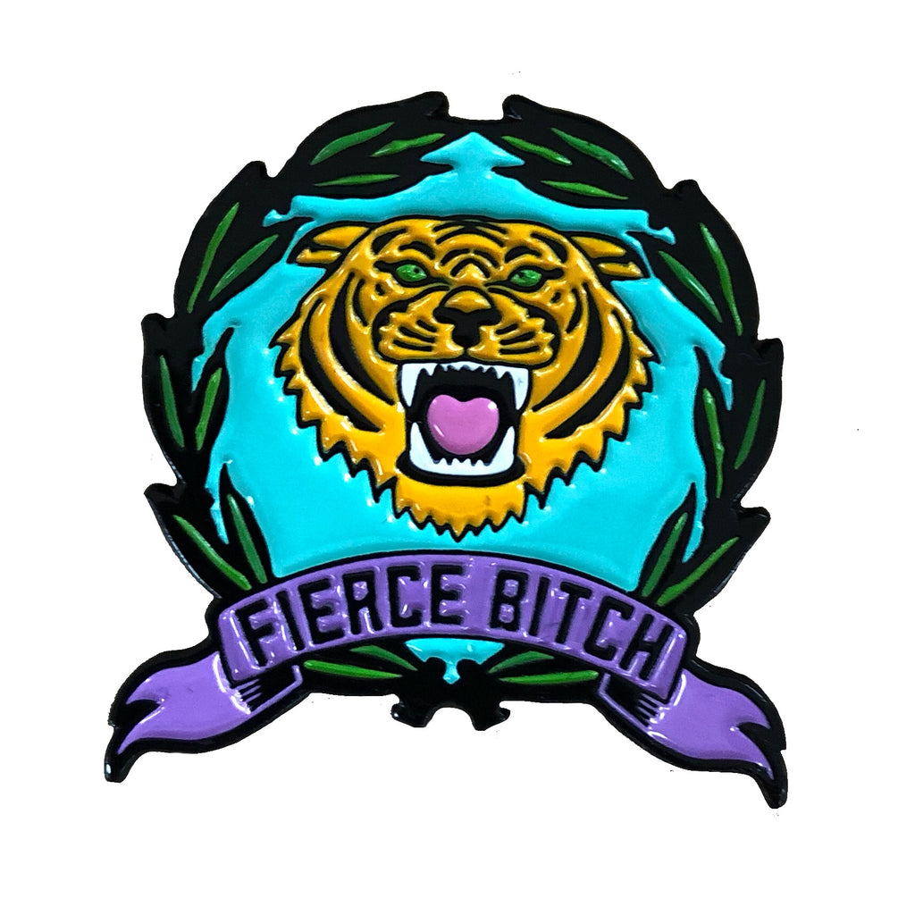 FIERCE BITCH ENAMEL PIN