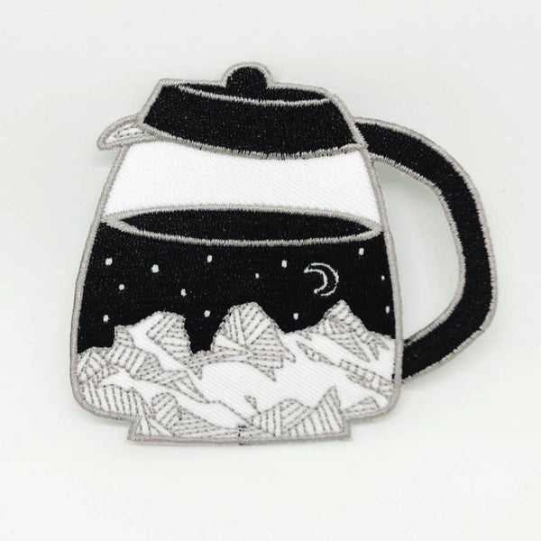 COFFEE POT STARRY MOUNTAINS PATCH