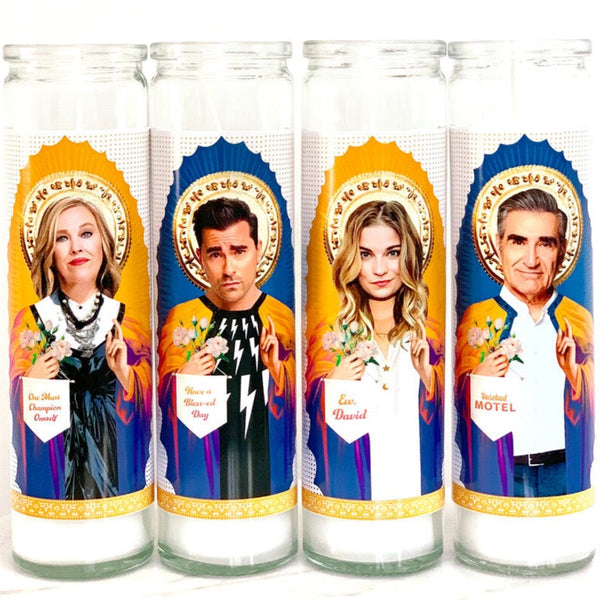 SCHITT'S CREEK SAINT CANDLE