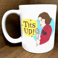MARVELOUS MRS MAISEL TITS UP! MUG