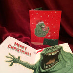 GHOSTBUSTERS SLIMER HOLIDAY - CARD