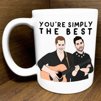 SIMPLY THE BEST SCHITT'S CREEK MUG
