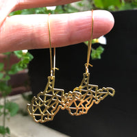 GEOMETRIC WV EARRINGS