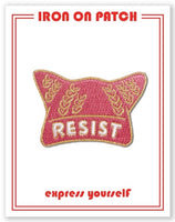 RESIST PUSSY HAT PATCH