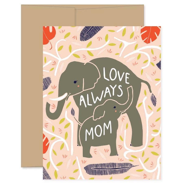 LOVING ELEPHANTS MOTHER'S DAY CARD