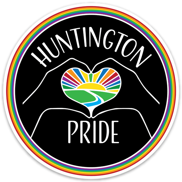 HUNTINGTON PRIDE STICKER