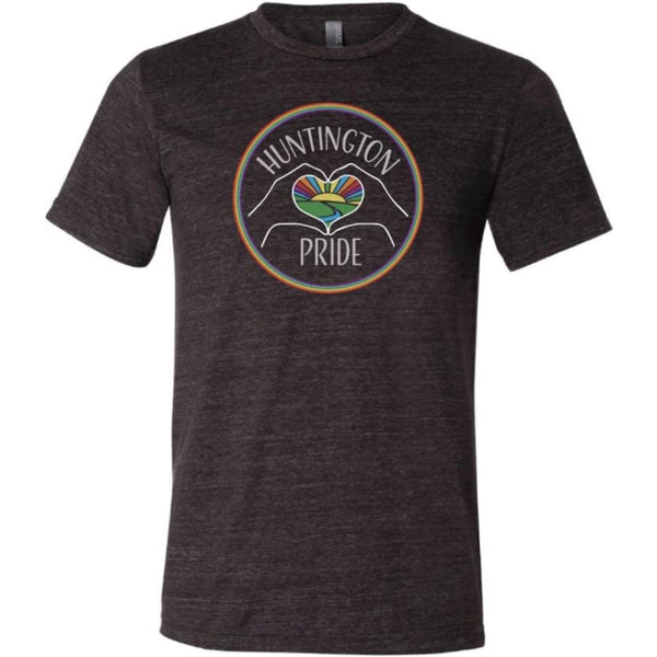 OFFICIAL HUNTINGTON PRIDE LOGO T-SHIRT