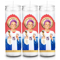 MEGAN RAPINOE SAINT CANDLE