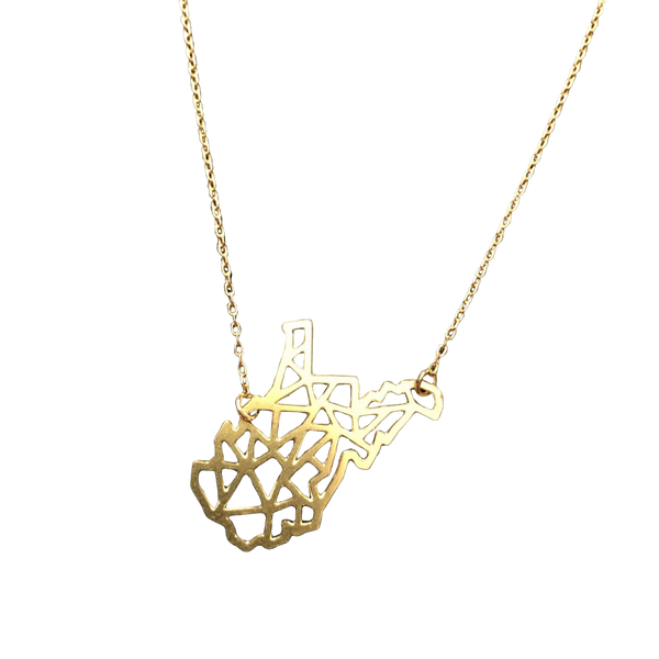 GEOMETRIC WV NECKLACE