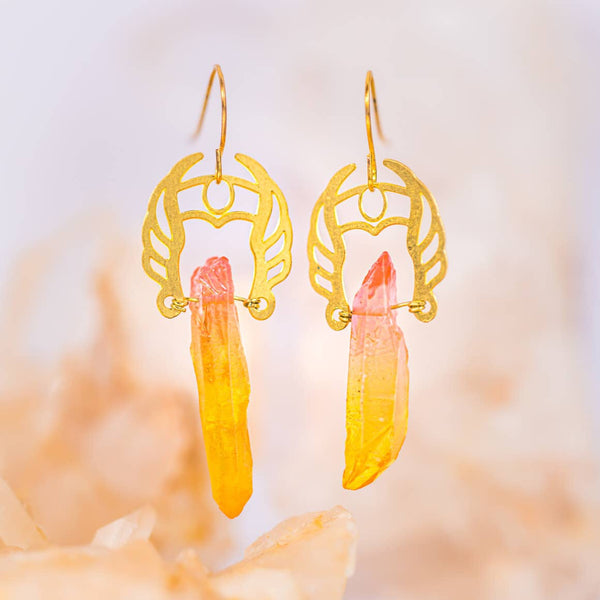 SHE-RA WARRIOR POWER EARRINGS