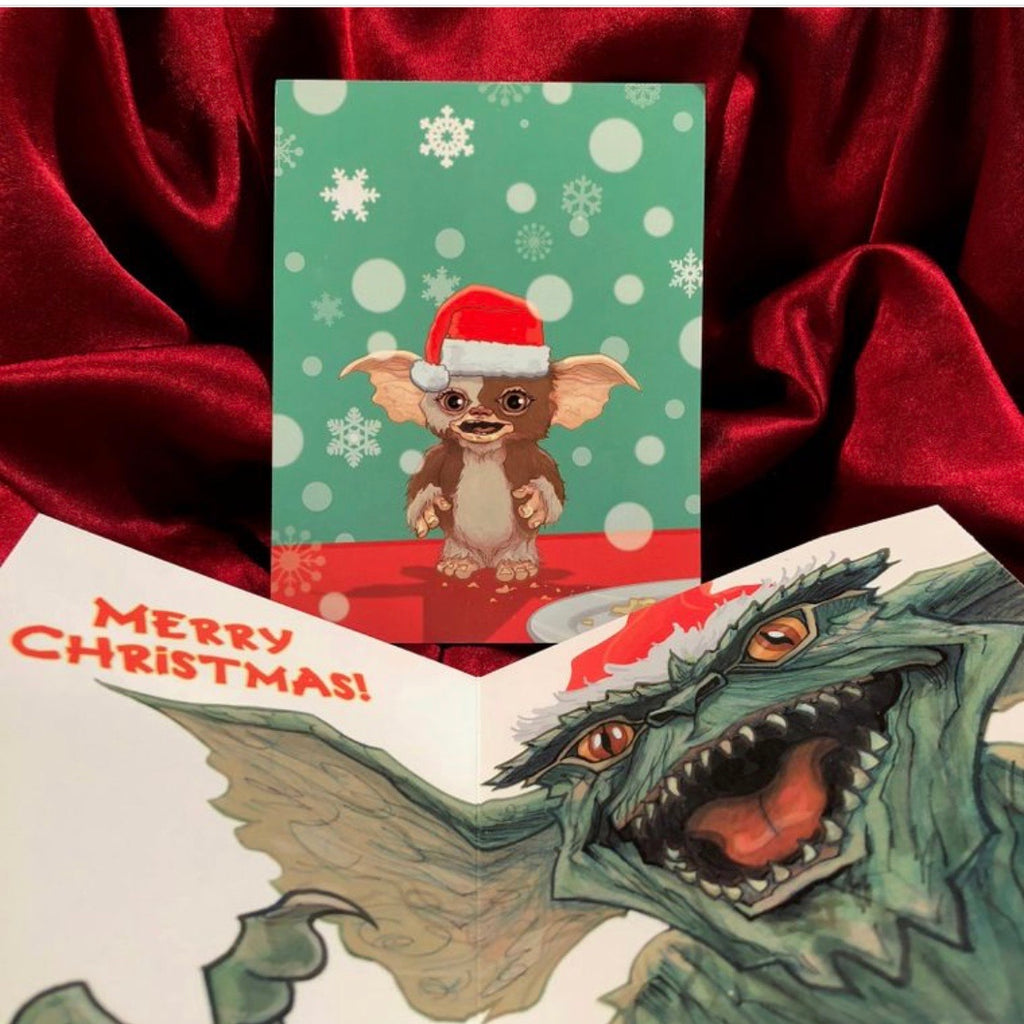 GIZMO GREMLINS HOLIDAY - CARD