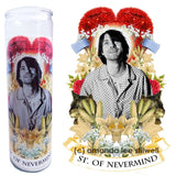 SAINT OF NEVERMIND CANDLE
