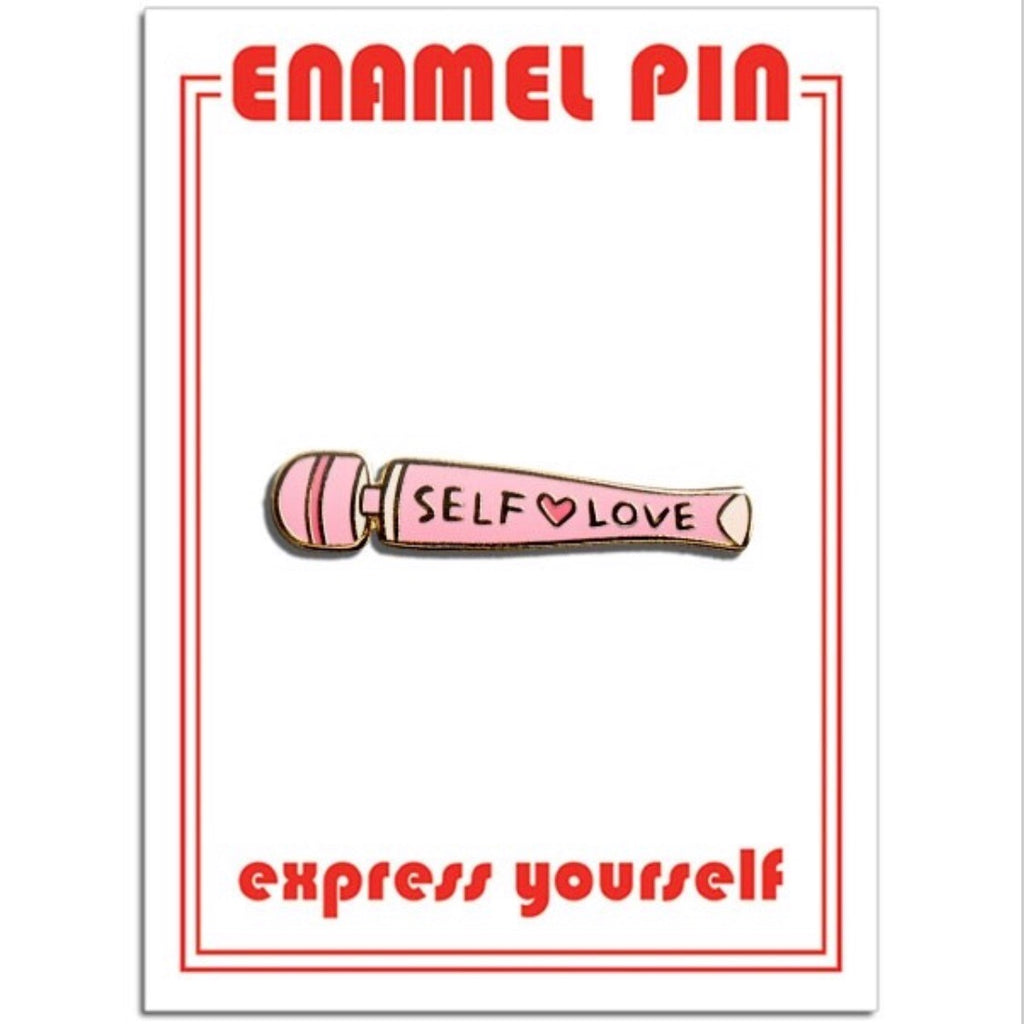 SELF LOVE VIBRATOR - ENAMEL PIN