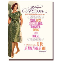 AMAZING MOM MOTHER'S DAY CARD