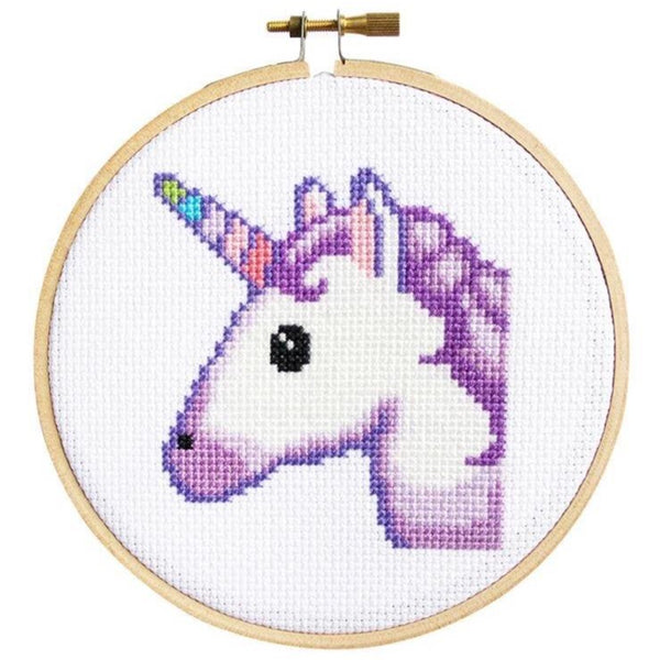 UNICORN CROSS-STITCH KIT
