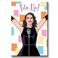 MRS. MAISEL TITS UP! MAGNET