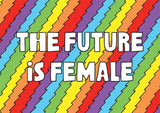 THE FUTURE IS FEMALE POSTCARD 7 PACK