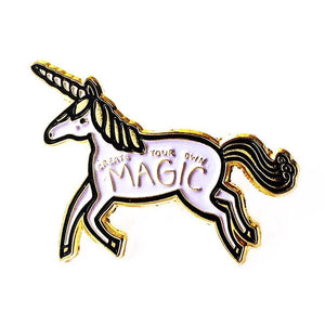 CREATE YOUR OWN MAGIC UNICORN ENAMEL PIN