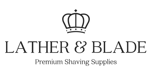 lather and blade razor logo