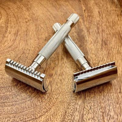 two safety razors double edge