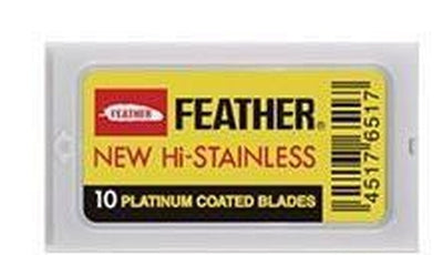 Feather 200 Count Blades for Safety Razor-Blades-Feather-Lather and Blade