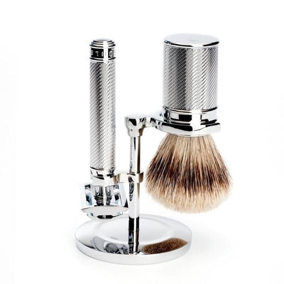 Muhle Stand for Traditional Safety Razors and Shaving Brushes - Lather and Blade