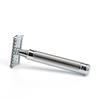 R41 Open Comb Safety Razor - Lather and Blade