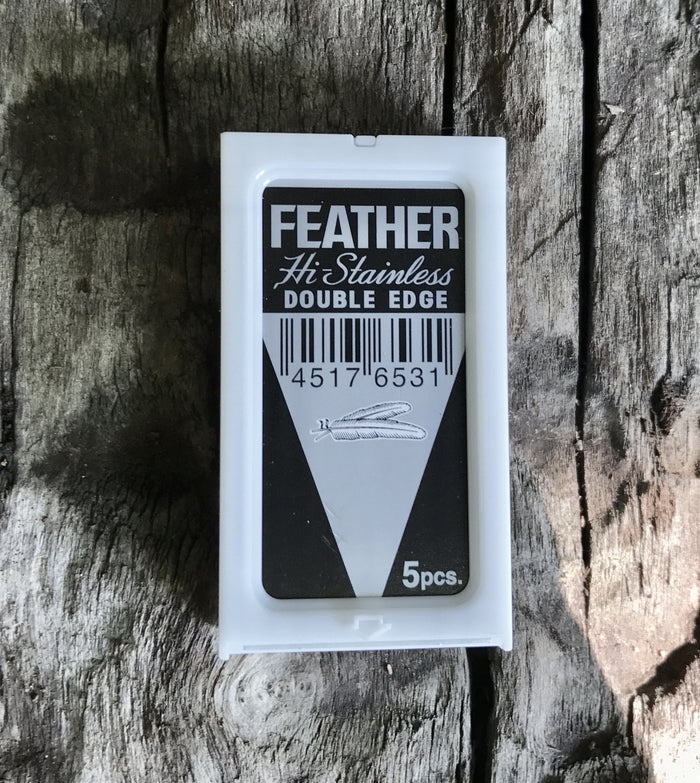 Feather 5 Count Safety Razor Blades