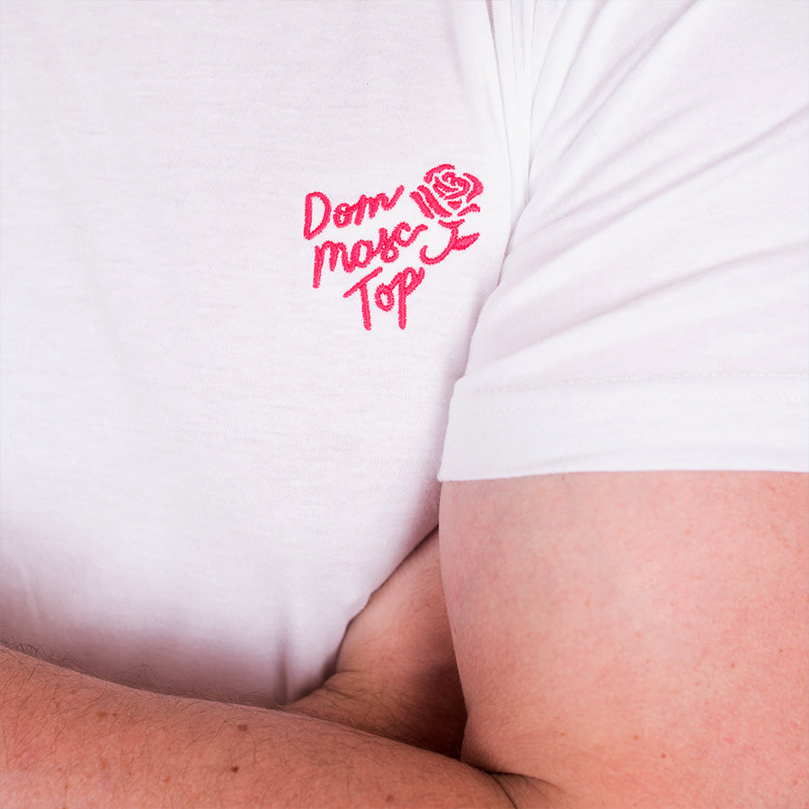 Dom Masc Top Embroidered T-Shirt - GAYPIN'