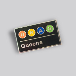 D.R.A.G. Queens Subway pin - GAYPIN'