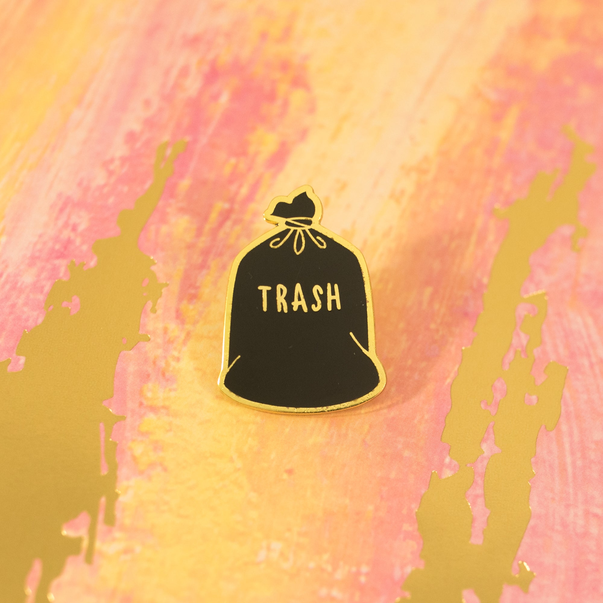 Trash pin