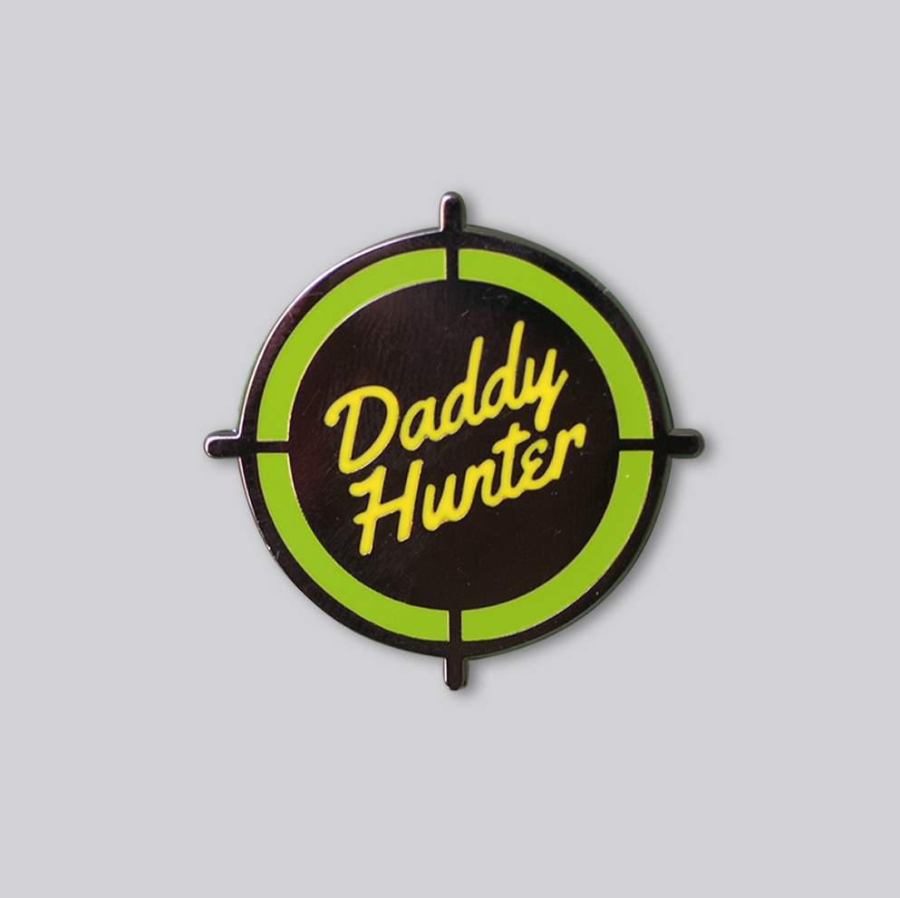 Daddy Hunter pin - GAYPIN'