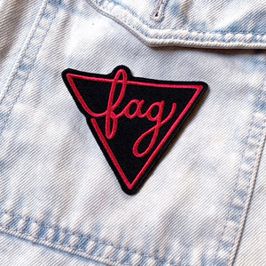 Fag Patch - GAYPIN'