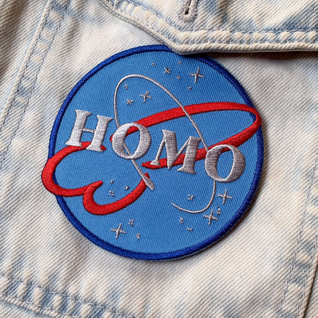 H.O.M.O. Patch - GAYPIN'