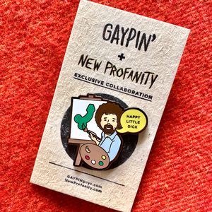Happy Little Bob pin - GAYPIN'