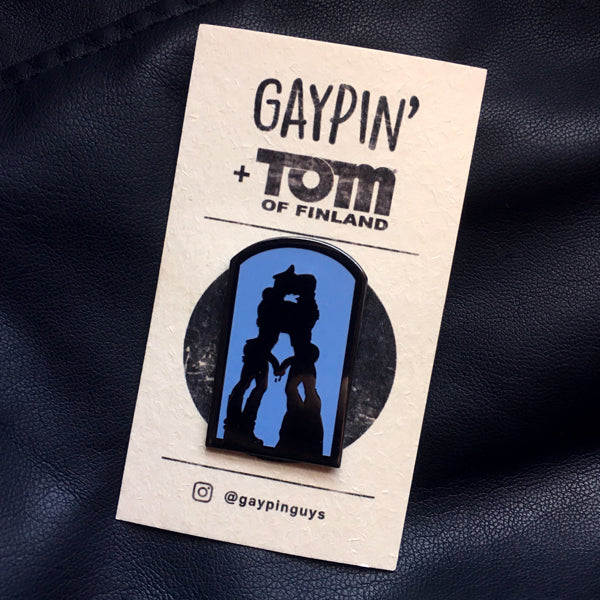 Tom Of Finland Just Cruising Pin - GAYPIN'