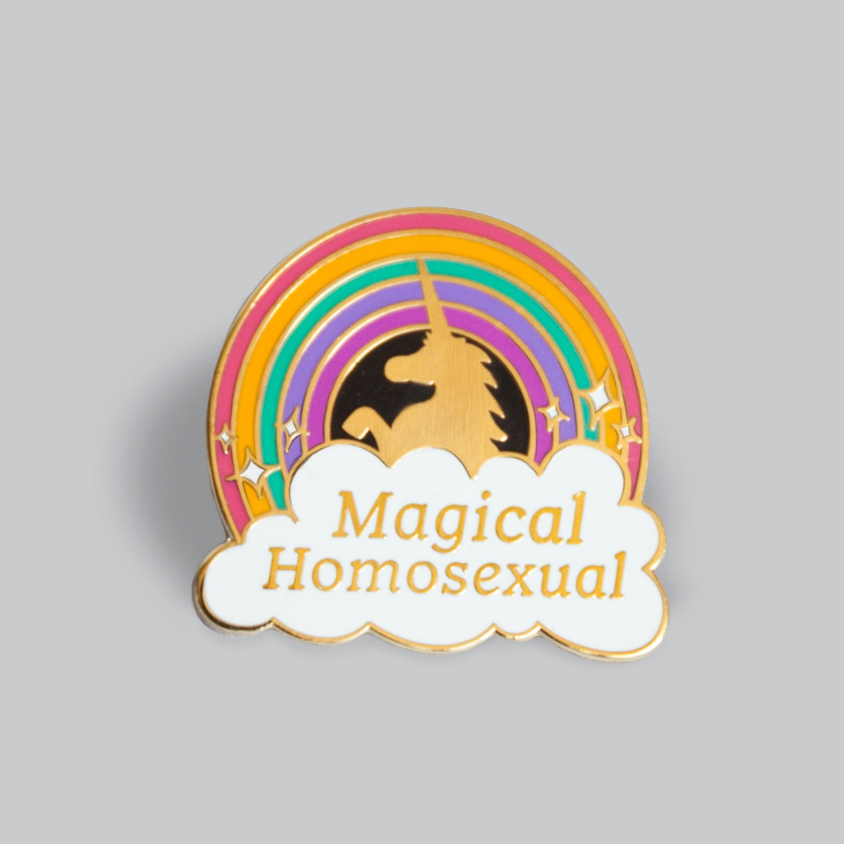 Magical Homosexual Pin - GAYPIN'