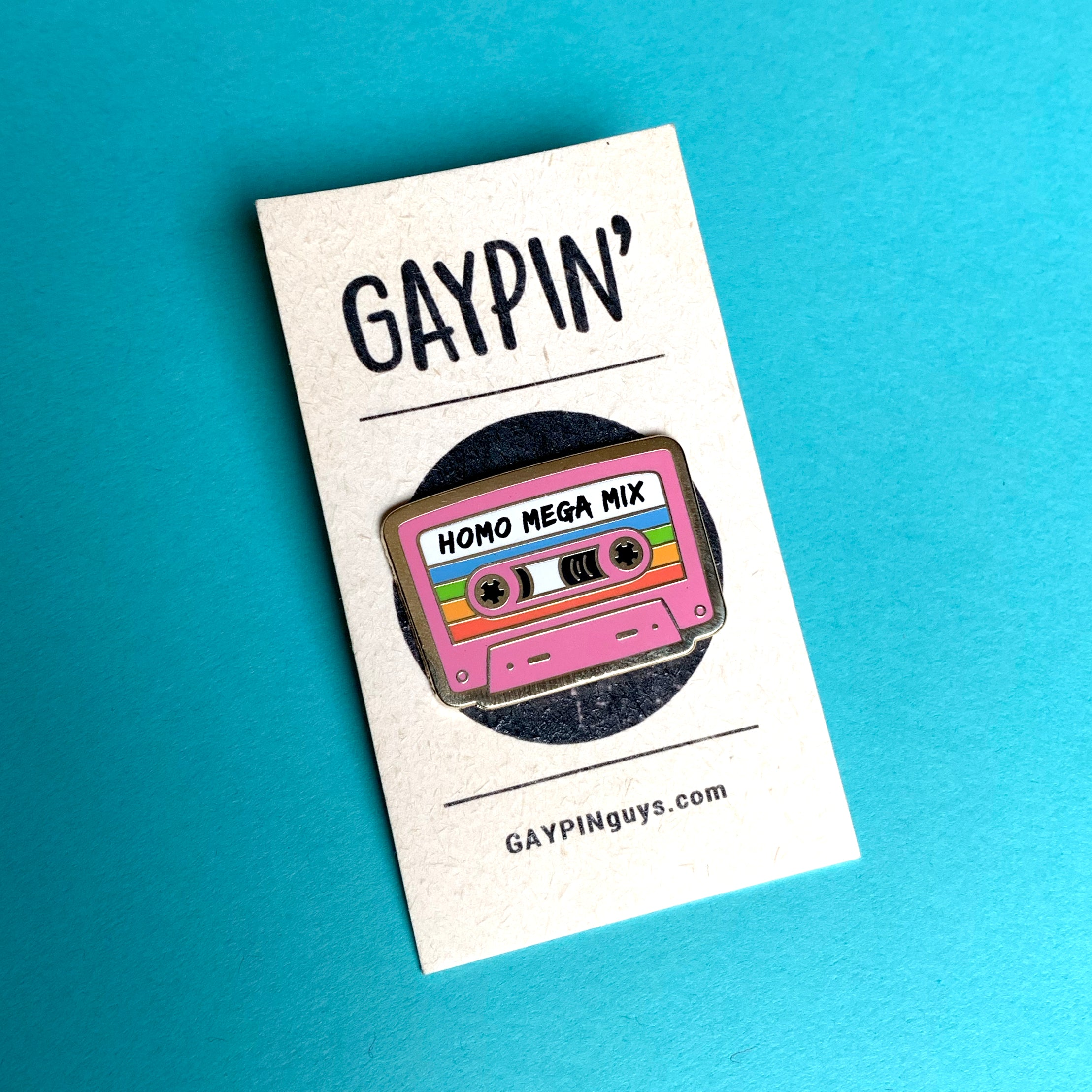 Homo Mega Mix Cassette pin