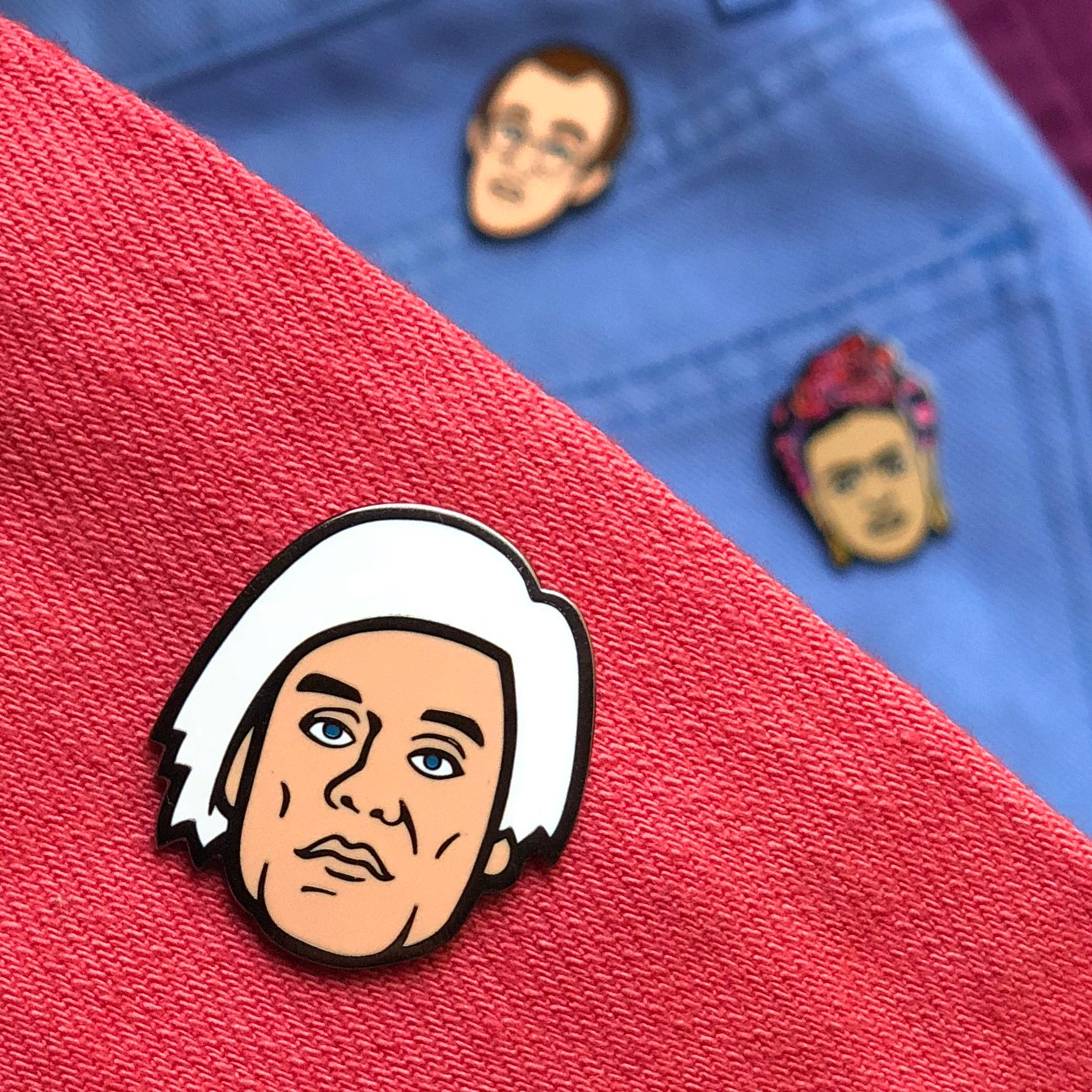 Warhol Pin (by Trevor Wayne)