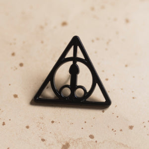 Dickly Hallows pin - GAYPIN'