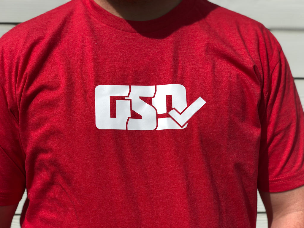 "GSD T-Shirt - Red / White - ""Pete Rose"""