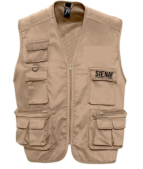 Unisex multi-pocket vest