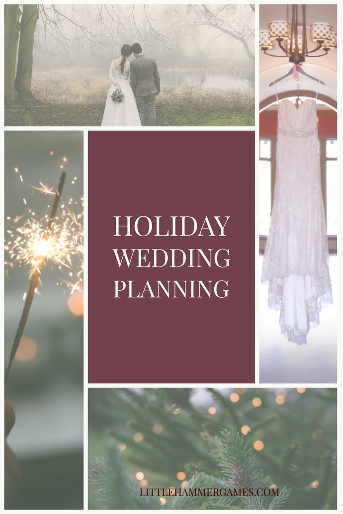 What every bride should know about planning a holiday wedding